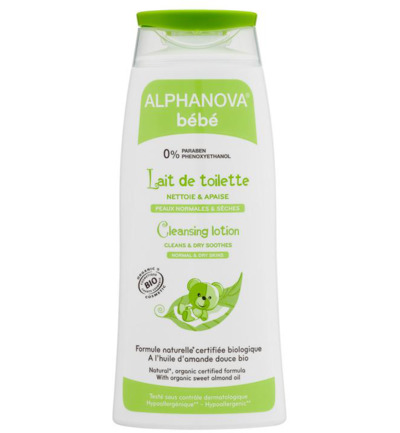 Baby organic cleansing lotion