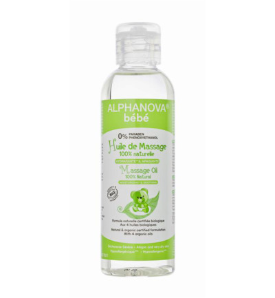 Baby organic massage oil