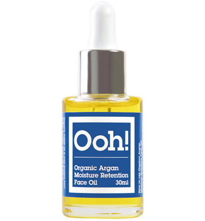 Organic argan moisture retention face oil