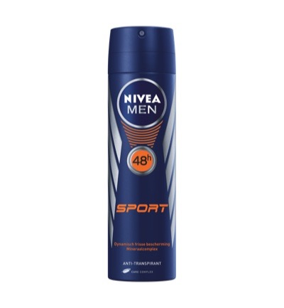 Men deodorant sport spray