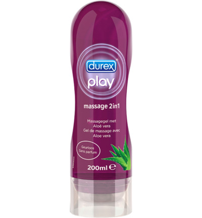 Massagegel Durex Play 2-in-1