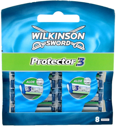 Protector 3 mesjes 8 pack