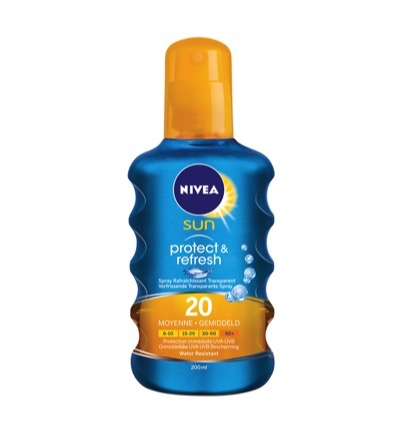 Sun invisible protect en refresh spray BF20