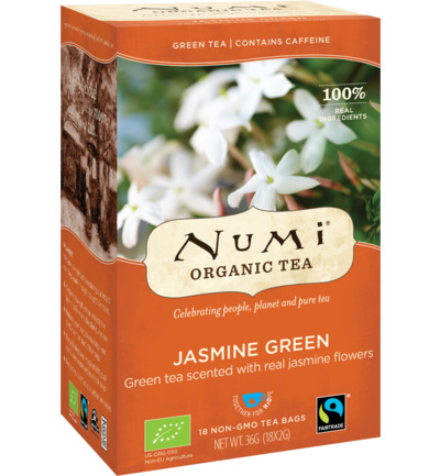 Numi Green Tea Monkey King Jasmine (18st)