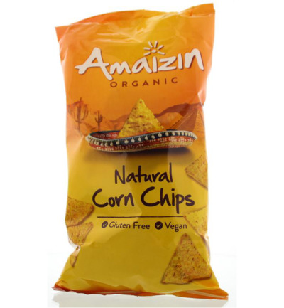 Corn chips bio natural