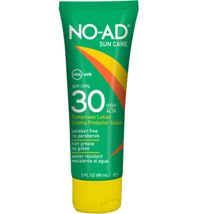 Sun tan lotion F30 tube