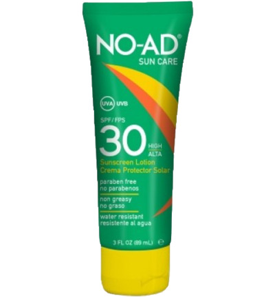 Zonnebrand lotion sun tan SPF 30 tube
