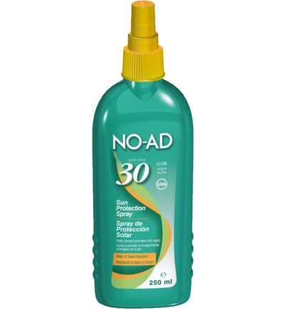 Zonnebrand spray factor 30