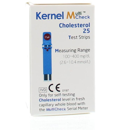Multicheck cholesterol strips