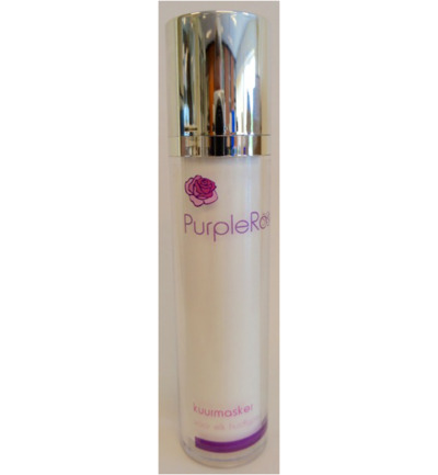 Purple rose kuurmasker