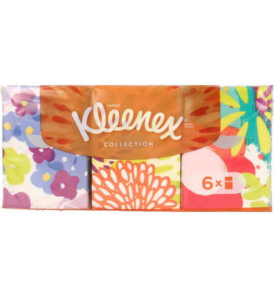 Kleenex Collection Zakdoekjes (6x7st)