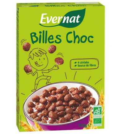 Kids cereal chocobol
