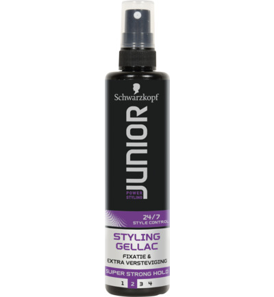 Junior Power Styling Gellac L2 Super Strong 150ml