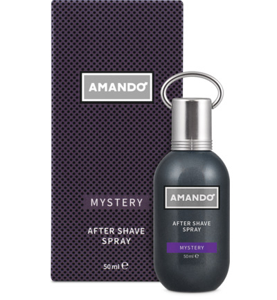 Mystery aftershave spray