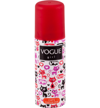 Vogue Girl Deodorant Deospray Cats 100ml