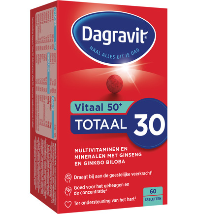 Dagravit Vitaal 50plus Tabletten 60tabl