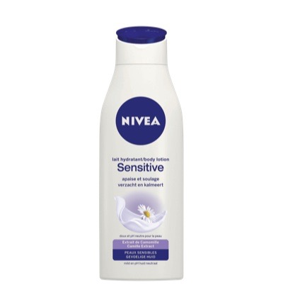 Body sensitiv lotion