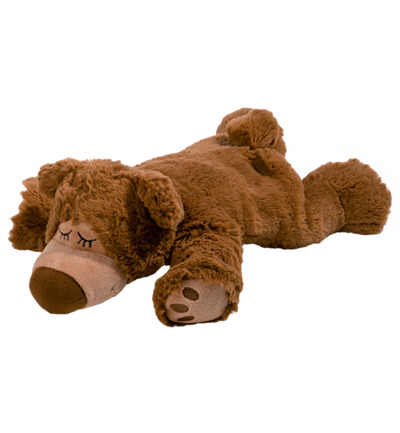 Warmies Sleepy Bear Lichtbruin 1 exemplaar