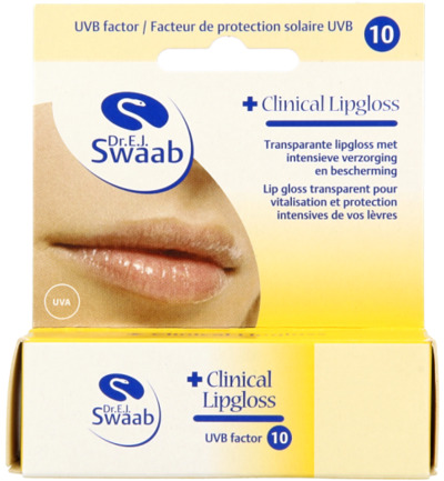 Clinical lipgloss blister