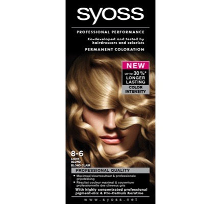 Colors 8-6 licht blond