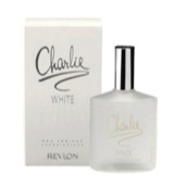 White eau de toilette spray