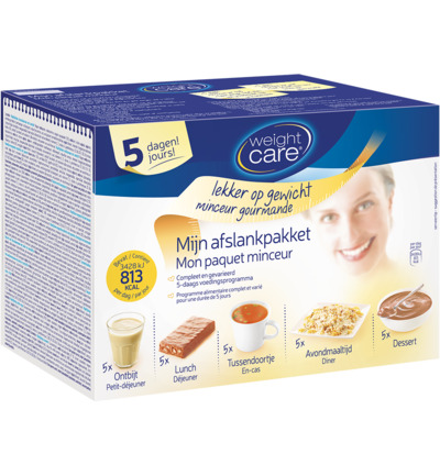 Weight Care 5-dagen Minikuur 810kcal Set