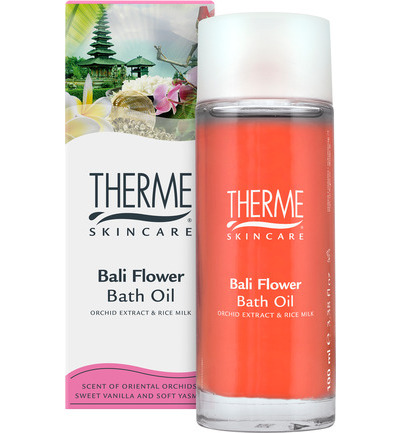 Bali flower bath oil
