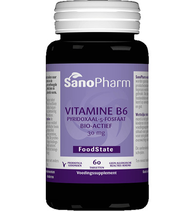 Vitamine B6 pyridoxine 20 mg