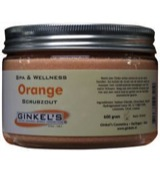 Body scrub orange