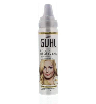 Color forming mousse 82 licht goud blond