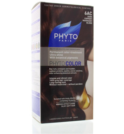 Phytocolor kopermahonie donker blond 6AC