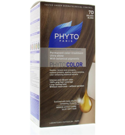 Phytocolor goudblond 7D