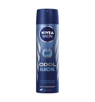 Men deodorant cool kick spray