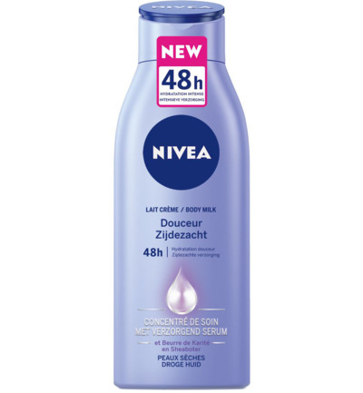 Nivea Body Milk Zijdezacht 400ml