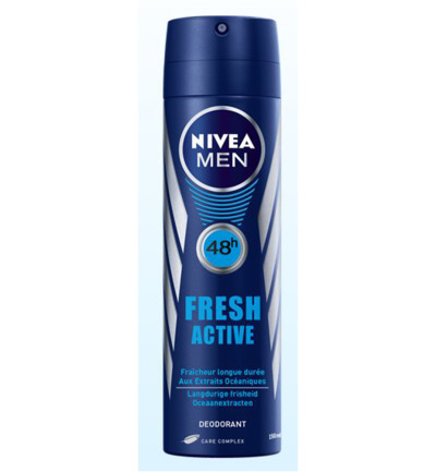 Men deodorant fresh spray