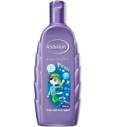 Shampoo kids piraat