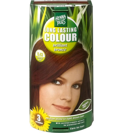 Long lasting colour 6.43 brilliant bronz