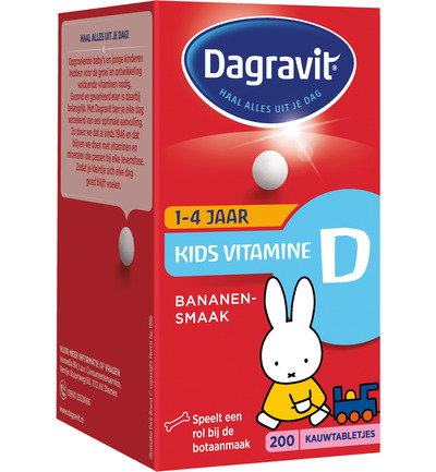 Dagravit Kids Vitamine D Tabletten 200tabl