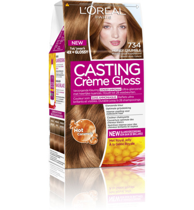 Casting creme gloss 734 Honey crumble