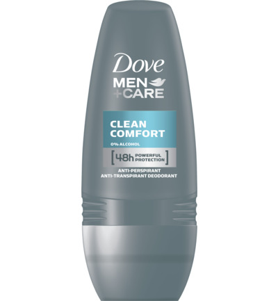 Deodorant roll on men clean comfort