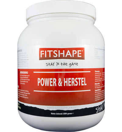 Fitshape Power and Herstel Vanille 1,2kg