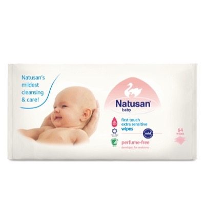 First touch wipes extra sensitive