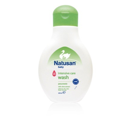 Natusan Baby Intensive Care Wash 250ml