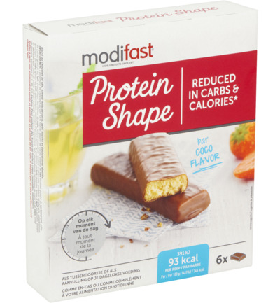 Protein Shape Bar Cocos
