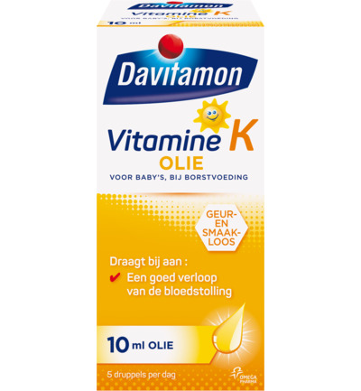 Davitamon Vitamine K Olie 10ml