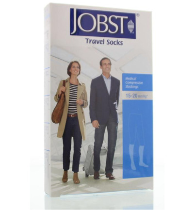 Travel socks beige maat 2 (39-40)
