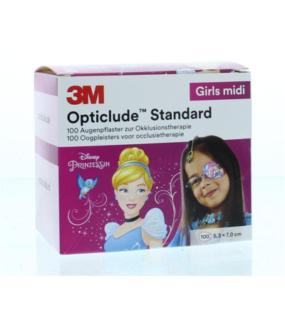 Opticlude oogpleister midi girl disney
