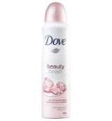 Deodorant spray beauty finish