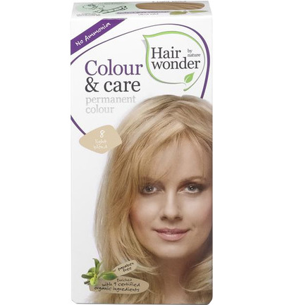 Colour and care 8 light blond