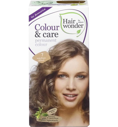 Colour and care 7 medium blond